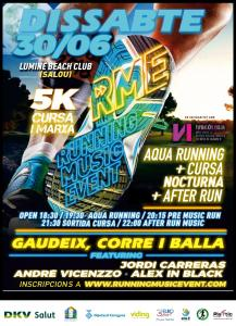 RUNNING MUSIC EVENT  -  5 km